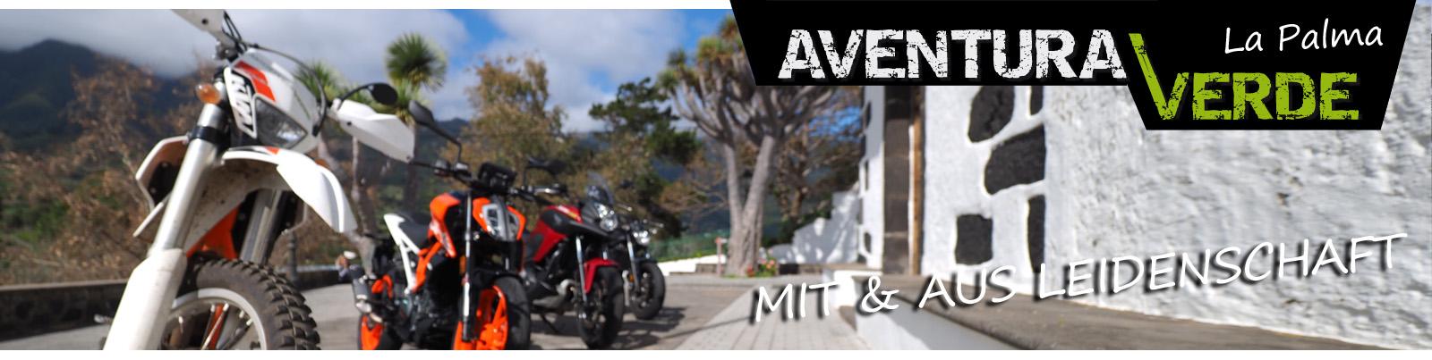 Aventura Verde - La Palma - Motorradvermietung